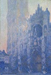 Monet | Rouen Cathedral Facade and Tour d'Albane (Morning Effect) | Giclée Canvas Print