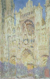 Monet | Rouen Cathedral at Sunset | Giclée Canvas Print
