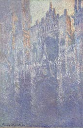 Monet | Rouen Cathedral, The Portal, Morning Fog | Giclée Canvas Print