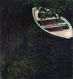 Monet | The Empty Boat | Giclée Canvas Print