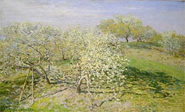 Monet | Spring (Fruit Trees in Bloom) | Giclée Canvas Print