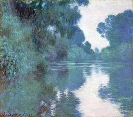 Monet | Morning on the Seine, near Giverny | Giclée Canvas Print
