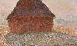 Monet | Haystack in the Sunlight | Giclée Canvas Print