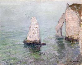 Monet | The Rock Needle and the Porte d'Aval | Giclée Canvas Print