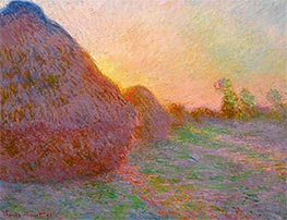 Monet | Haystacks | Giclée Canvas Print