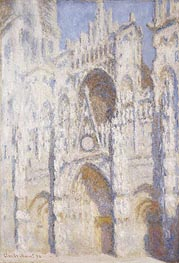 Monet | Rouen Cathedral, Afternoon (The Portal, Full Sunlight) | Giclée Canvas Print