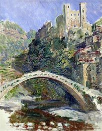Monet | The Castle of Dolceacqua | Giclée Canvas Print