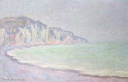 Monet | Cliffs at Pourville | Giclée Canvas Print