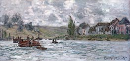 Monet | Village of Lavacourt near Vetheuil | Giclée Canvas Print