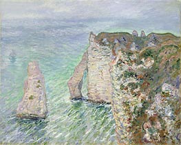 Monet | The Needle and the Porte d'Aval, Etretat | Giclée Canvas Print