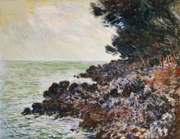 Monet | Cap Martin, undated | Giclée Canvas Print