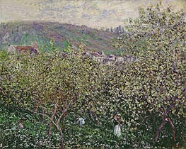 Monet | Fruit Pickers, 1879 | Giclée Canvas Print