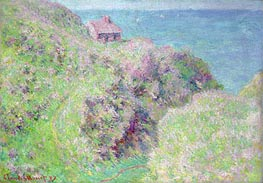 Monet | Customs House at Varengeville, 1897 | Giclée Canvas Print