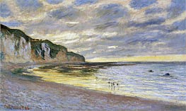 Monet | Pointe De Lailly, Maree Basse, 1882 | Giclée Canvas Print
