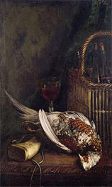 Monet | Still Life with a Pheasant, c.1861 | Giclée Canvas Print