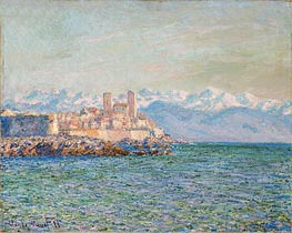 Monet | The Fort of Antibes | Giclée Canvas Print