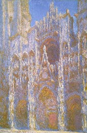 Monet | Rouen Cathedral, Facade | Giclée Canvas Print