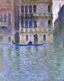 Monet | The Palazzo Dario | Giclée Canvas Print