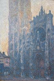 Monet | Rouen Cathedral: The Portal (Morning Effect) | Giclée Canvas Print