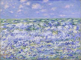 Monet | Waves Breaking | Giclée Canvas Print
