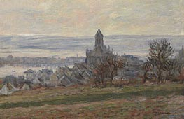 Monet | The Church at Vetheuil, 1881 | Giclée Canvas Print