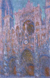 Monet | Rouen Cathedral: Setting Sun | Giclée Canvas Print