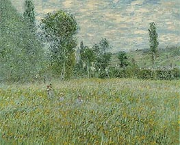 Monet | The Meadow (La Prairie), 1879 | Giclée Canvas Print