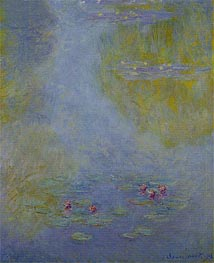 Monet | Water Lilies (Nympheas) | Giclée Canvas Print