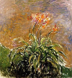 Monet | Hemerocallis | Giclée Canvas Print
