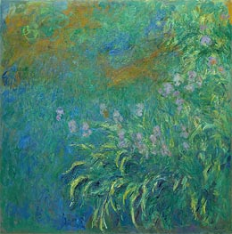 Monet | Irises | Giclée Canvas Print
