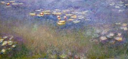 Monet | Water Lilies | Giclée Canvas Print