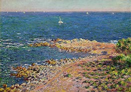 Monet | The Mediterranean by Mistral Wind | Giclée Canvas Print