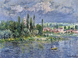 Monet | Vetheuil | Giclée Canvas Print