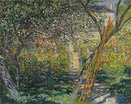 Monet | The Garden of Vétheuil | Giclée Canvas Print