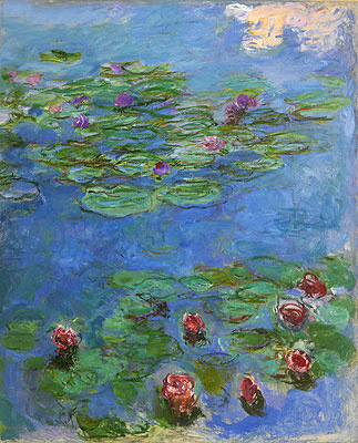 Water Lilies, c.1914/17 | Monet | Painting Reproduction