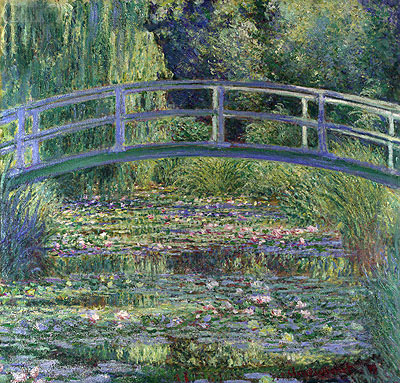 Monet | Water Lily Pond, (Symphony in Green), 1899 | Giclée Canvas Print