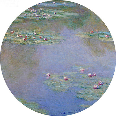 Monet | Water Lilies, 1907 | Giclée Canvas Print