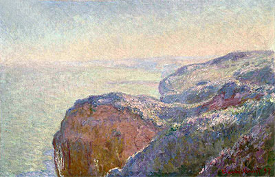 At the Val Saint-Nicolas, near Diepper, Morning, 1897 | Monet | Painting Reproduction