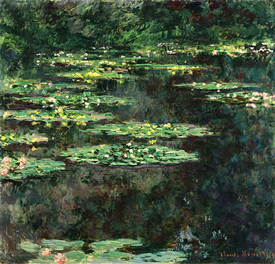 Water Lilies, 1904   Monet   Painting Reproduction