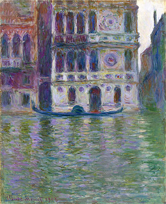 Monet | The Palazzo Dario, 1908 | Giclée Canvas Print