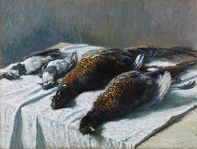 Still Life with Pheasants and Plovers, 1879 | Monet | Giclée Canvas Print