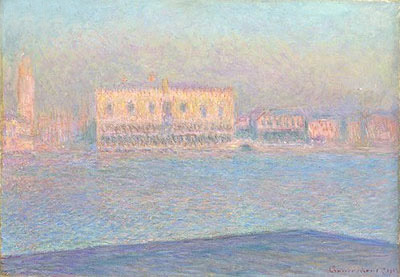 The Doge's Palace Seen from San Giorgio Maggiore, 1908 | Monet | Giclée Canvas Print