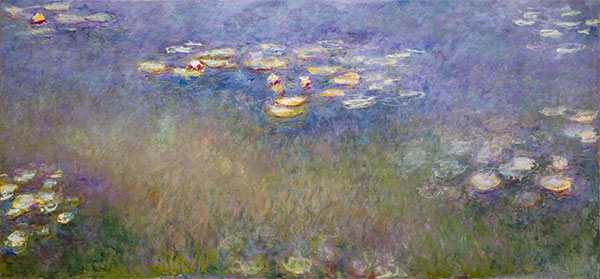 Water Lilies, c.1915-26 | Monet | Painting Reproduction