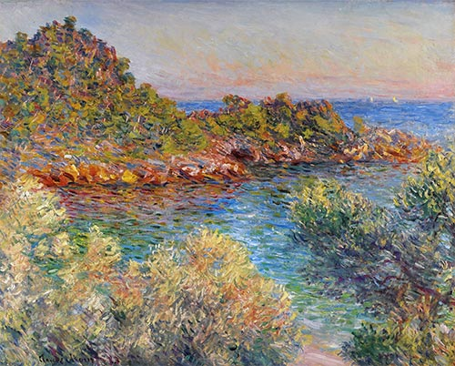 Near Monte Carlo, 1883 | Monet | Giclée Canvas Print
