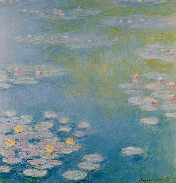 Nympheas at Giverny, 1908 | Monet | Giclée Canvas Print