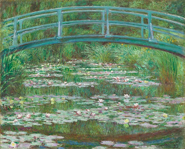 The Japanese Footbridge, 1899 | Monet | Painting Reproduction