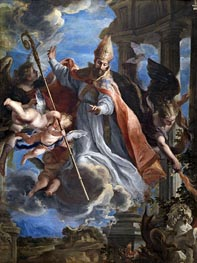 Claudio Coello | The Triumph of Saint Augustine | Giclée Canvas Print