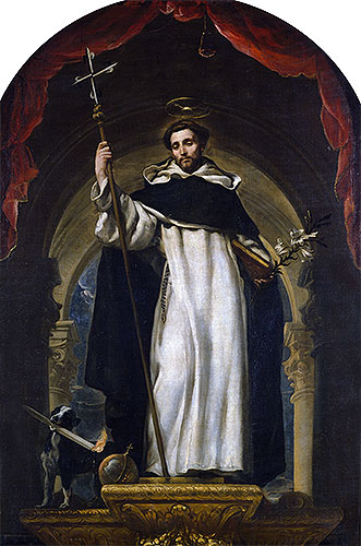 Saint Dominic of Guzman, c.1685 | Claudio Coello | Giclée Canvas Print