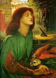 Rossetti | Beata Beatrix (Blessed Beatrice) | Giclée Canvas Print