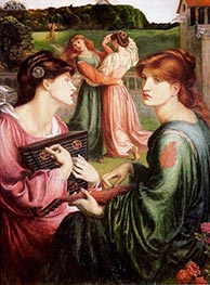 Rossetti | The Bower Meadow, c.1871/72 | Giclée Canvas Print